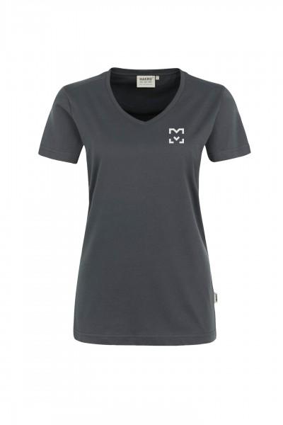 HAKRO Damen-V-Shirt High Performance