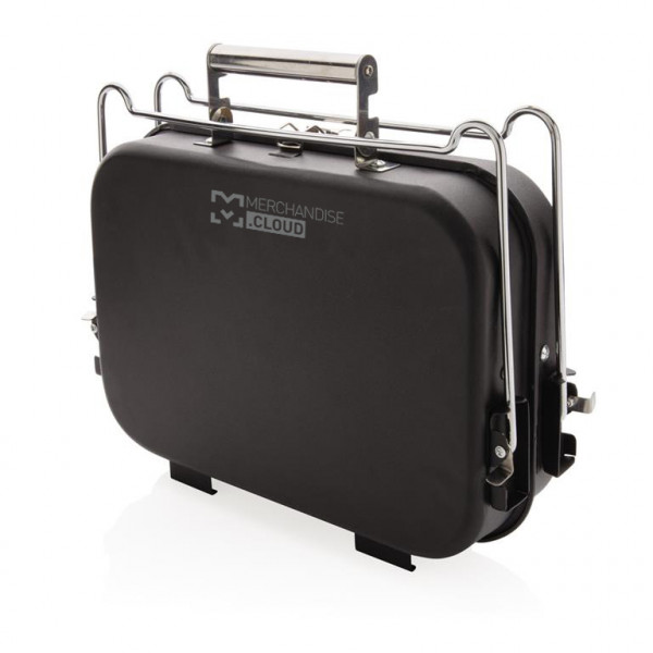 Tragbarer Deluxe Grill im Koffer